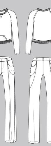 CAD Illustration - Mix & match set
