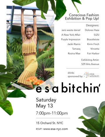 esa bitchin' event poster for print and web