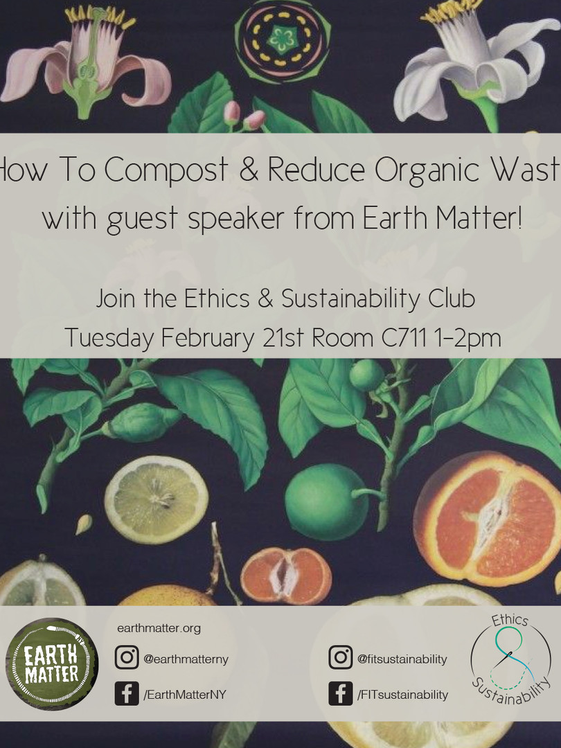 Earth Matter event used for print and web