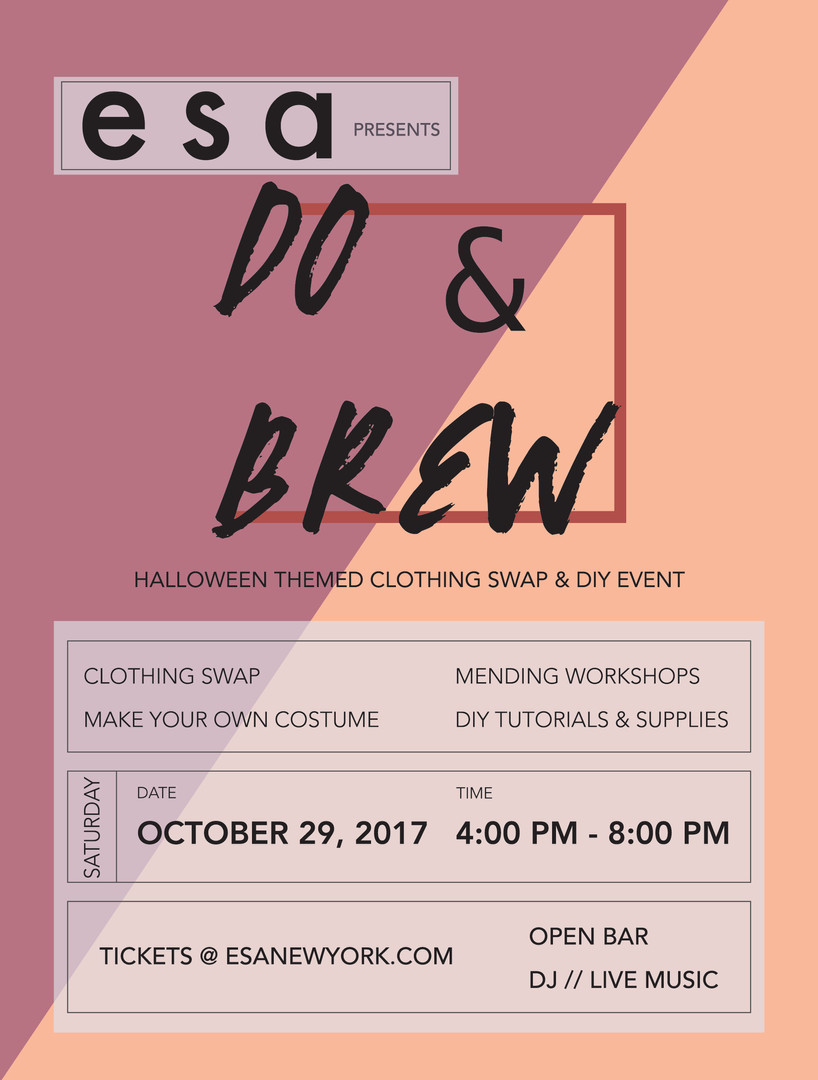 Halloween Do&Brew poster development