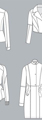 CAD IIlustration - Jackets
