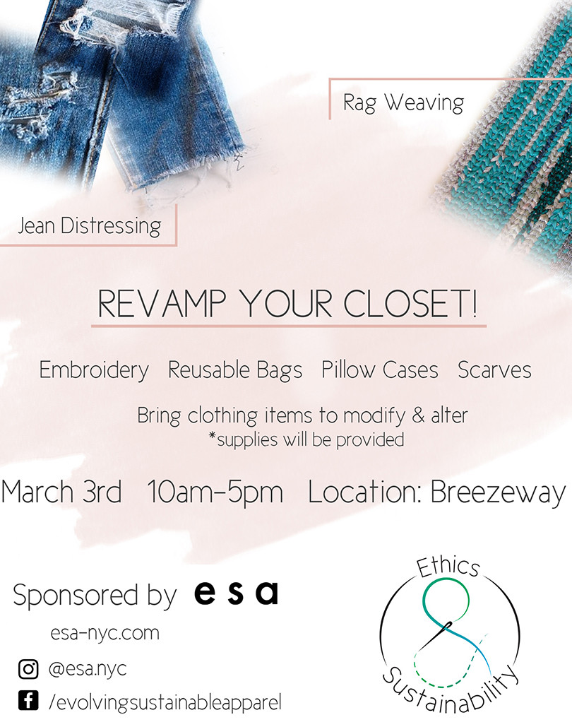 Closet Revamp event used for print and web