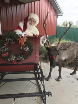 Santa and his team