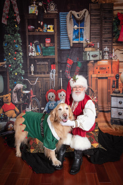 Santa and his best friend