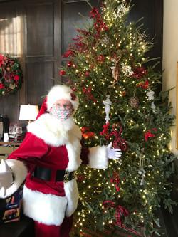 Nothing will stop Santa!