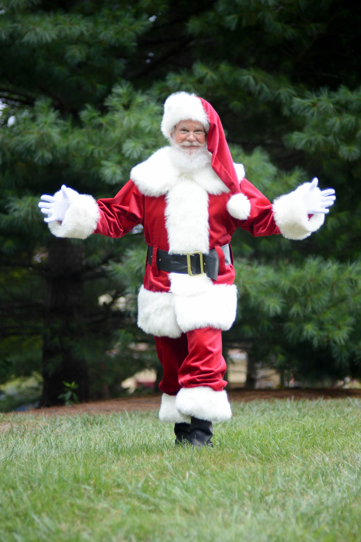 Santa arrives!