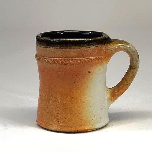 Flashing Slip Mug with Tenmoku Interior