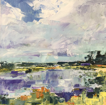 Marsh and Sky-SOLD