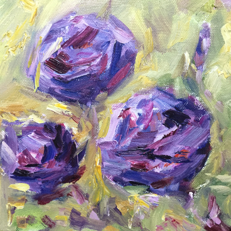 Purple Goddesses