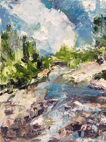 Rose River in Turquoise-Graves' Mtn