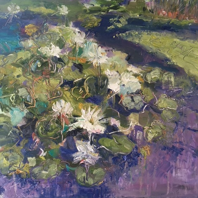 Waterlilies-Resting