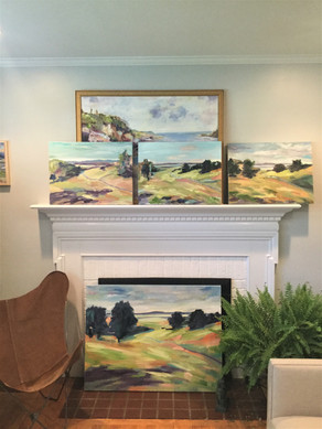 Clore Road Series on the Mantle