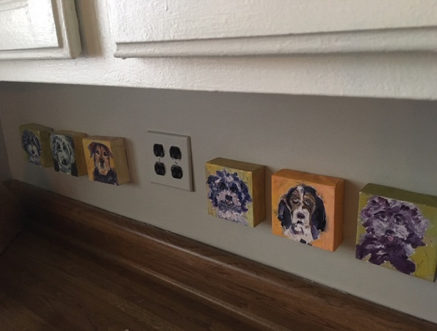 Mini Pets Counter Art