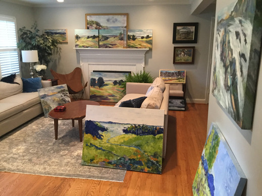 A House Full of Clore Road Paintings