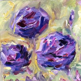 Three Purple Roses