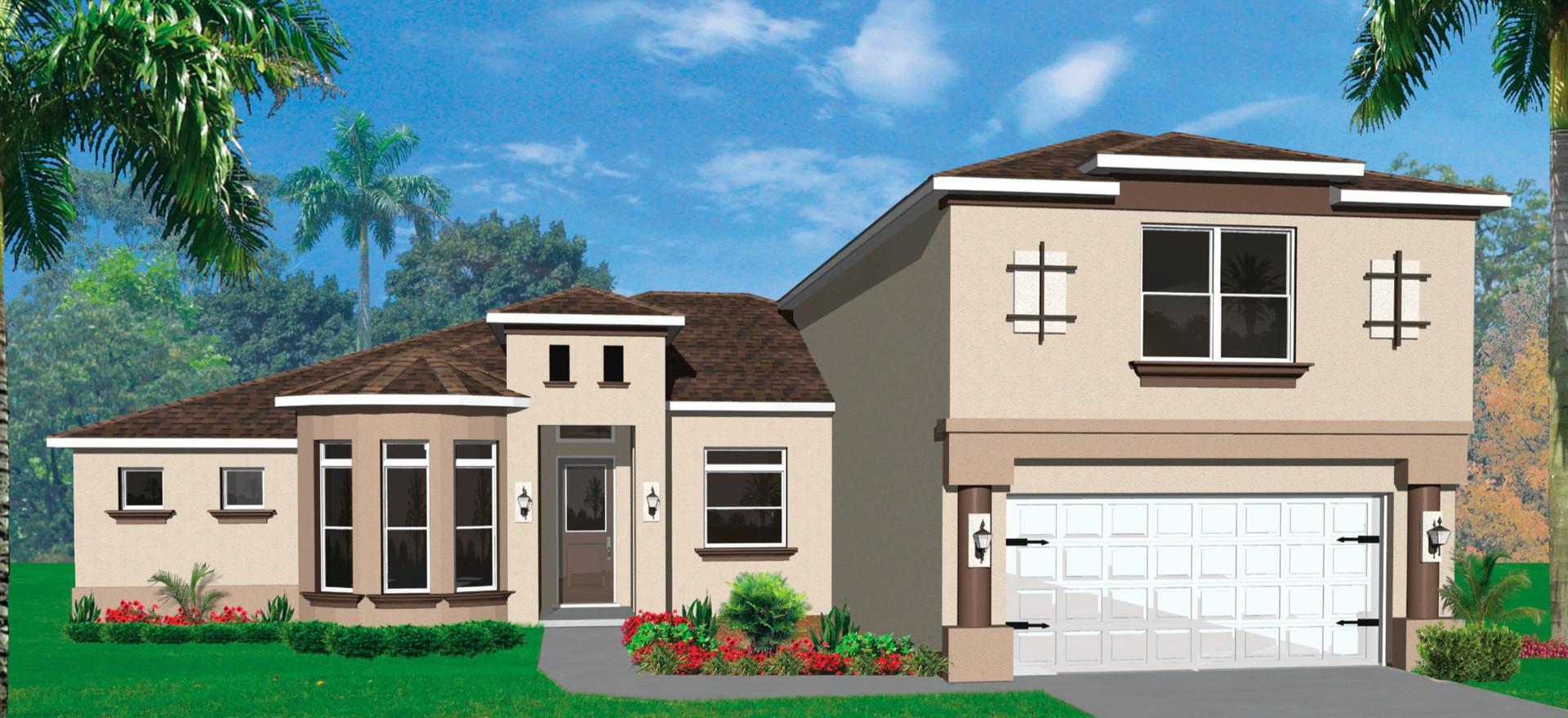 Casa Bella Floor Plan - Groza Builders Inc.