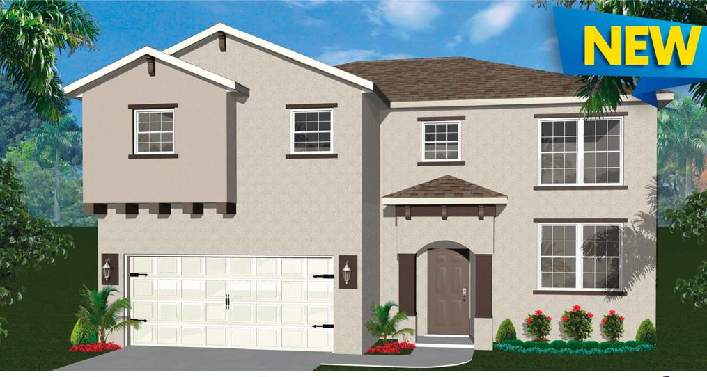 Azalea Floor Plan - Groza Builders Inc.