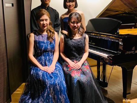 リスト-2つのピアノ協奏曲とソナタ-終演