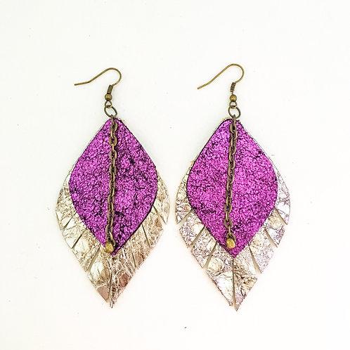 Purple Metallic Petals