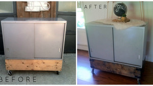 Industrial Chic Upcycle