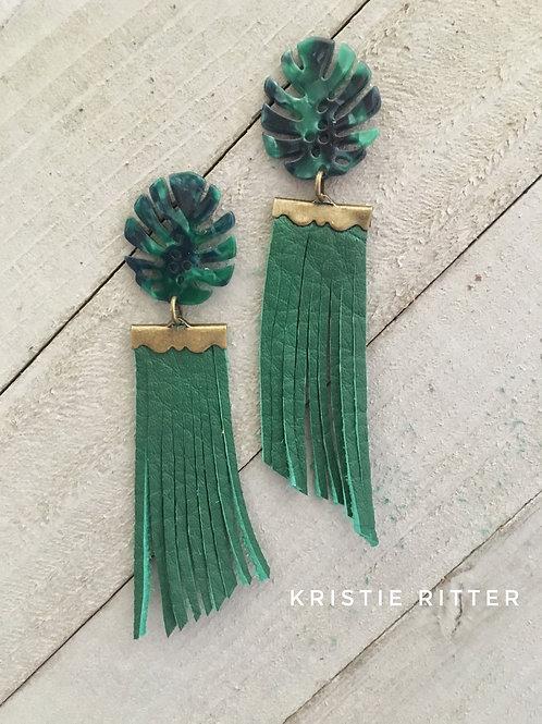 Boho Palm Fringe