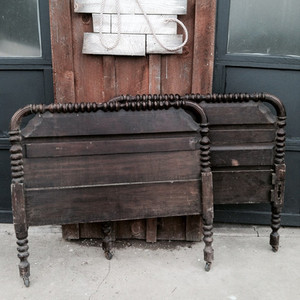 Vintage Bed to Settee
