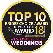 Ruth Matos 2018 Top 10 Brides Choice Awa