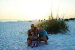 Lisa and Shaun Landers, Anna Maria Island