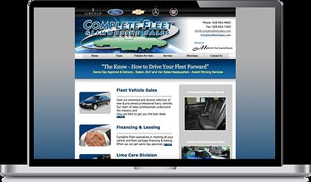 Complete Fleet old website design