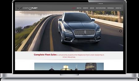 Complete Fleet website update