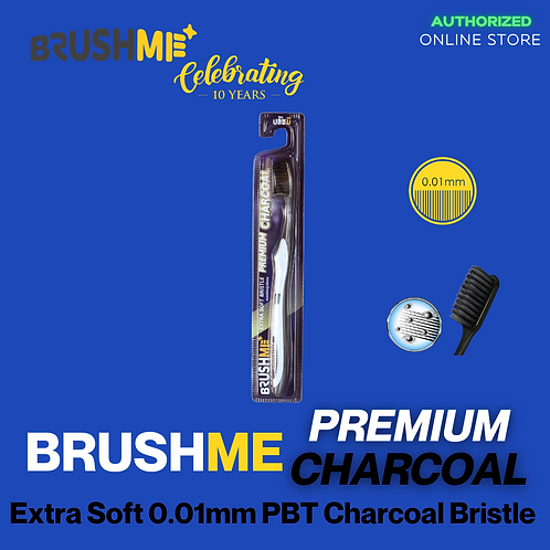 BrushMe Charcoal Extra Soft