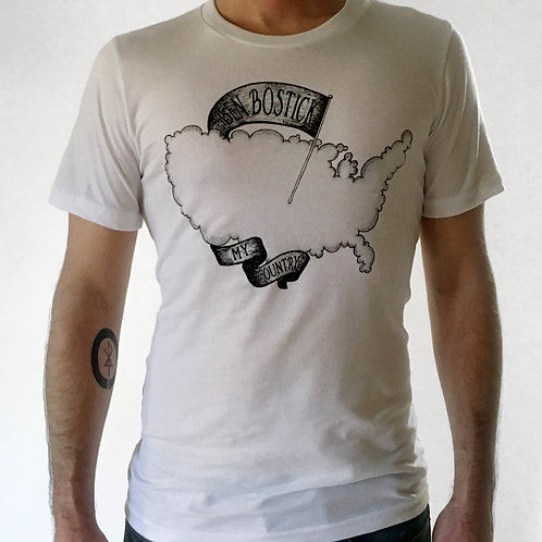 My Country T-Shirt WHITE