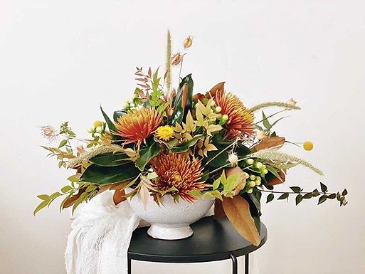 Thanksgiving Table Centerpieces created for you by Sunnyside Florals