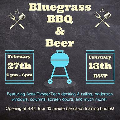 Bluegrass, BBQ, & Beer