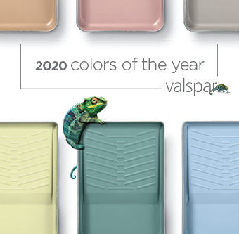 Which Valspar Color of the Year would transform your home?