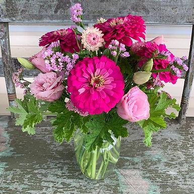 Summer Flower Bouquet Workshop