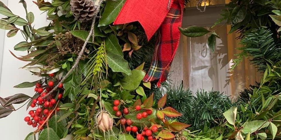 Wreath Workshop w/Sunnyside Florals & Sheepfield Farm