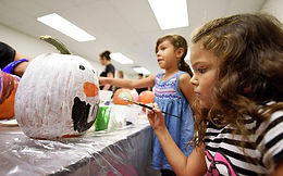 2nd Annual Pumpkin Painting, Treats, and Fun Event... FREE for kids!
