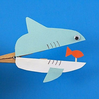 Story Time and Craft: Shark Attack!