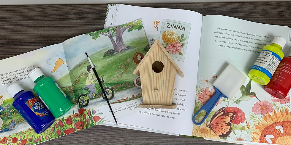 Story Time & Crafts:  Feathered Friends