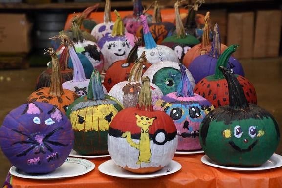 Pumpkin Painting, Treats, and Fun!