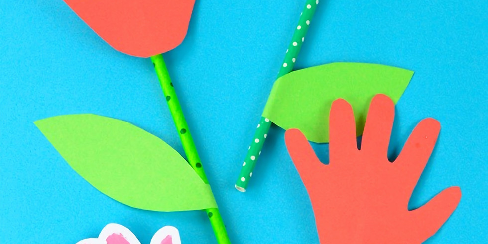 Story Time & Crafts:  April Showers Bring May Flowers