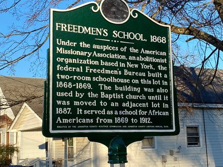 Educational Advancements for and by African Americans in North Carolina