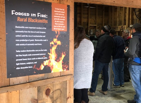 Forged in Fire: Rural Blacksmiths in NC Exhibit Opening