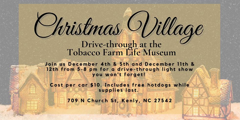 Christmas Village Drive Through 12/5