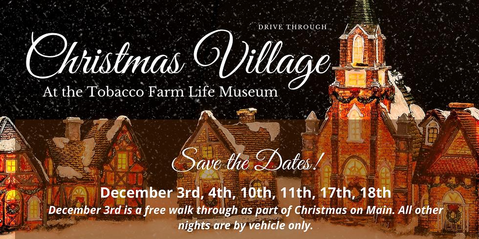 Drive Through Christmas Village