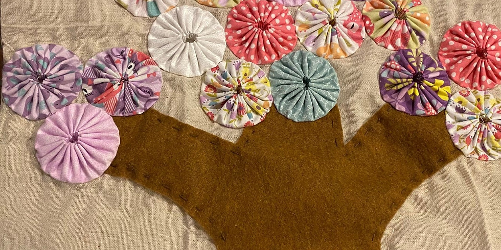 Virtual Fabric Arts Quilting Class: Stepping into the Past
