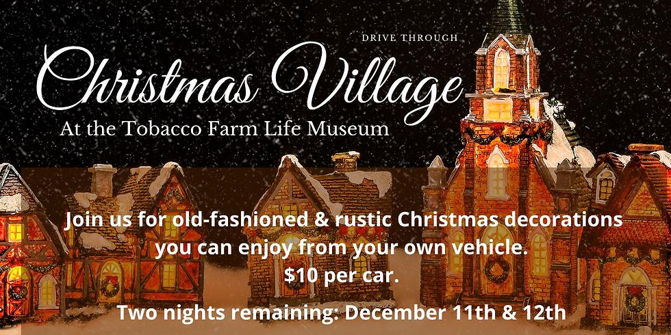 Christmas Village Drive Through 12/12