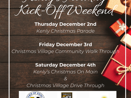 Kenly's Holiday Kick-Off Weekend
