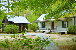 Historic homestead and kitchen